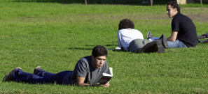 MIT students fooling around.