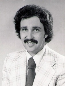 My official WHNB portrait (1977).  Hold the Mr. Kotter/Ron Jeremy jokes.  Heard 'em.