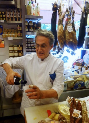 Clerk at E. Volpetti's in Rome