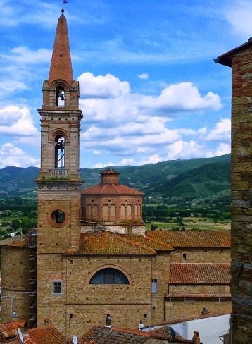 The church in Castiglion Fiorentino