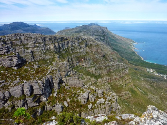 Atop Table Mountain