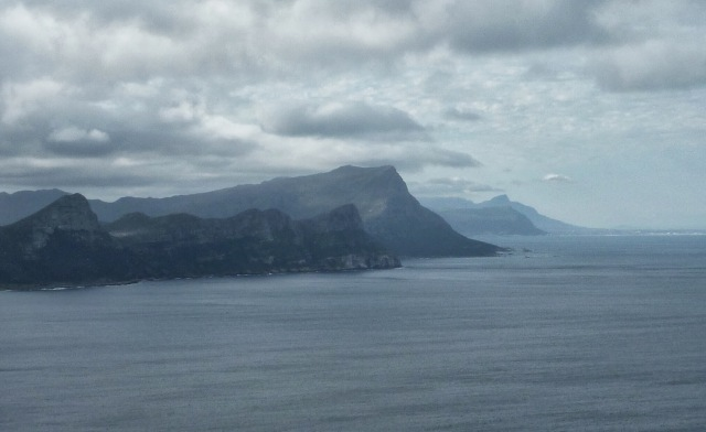 The coastline from Cape Point
